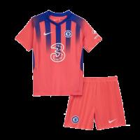 Chelsea Kids Soccer Jersey Third Away Kit (Shirt+Short) 2020/21