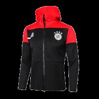 20/21 Bayern Munich Black&Red Hoody Jacket