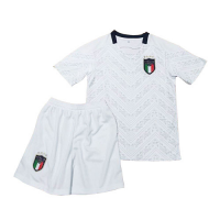 Italy Kid's Soccer Jersey Away Kit (Shirt+Short) 2020