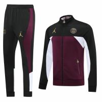 20/21 PSG Dark Red High Neck Collar Training Kit(Jacket+Trouser)