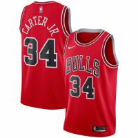 Men's Chicago Bulls Wendell Carter Jr. No.34 Nike Red Swingman Team Jersey