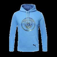 20/21 Manchester City Light Blue Hoodie Sweater