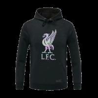 20/21 Liverpool Black Hoody Sweater