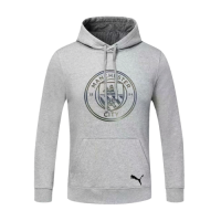 20/21 Manchester City Gray Hoodie Sweater