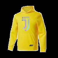 20/21 Juventus Yellow Hoody Sweater