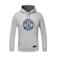 20/21 Manchester United Gray Hoody Sweater