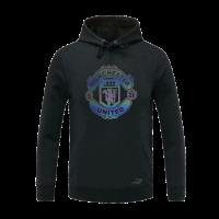20/21 Manchester United Black Hoody Sweater