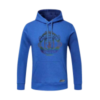 20/21 Manchester United Blue Hoody Sweater