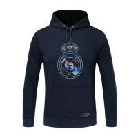 20/21 Real Madrid Navy Hoody Sweater
