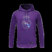 20/21 Real Madrid Purple Hoody Sweater