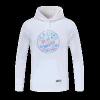20/21 Bayren Munich White Hoody Sweater