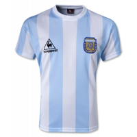 Argentina Retro Soccer Jersey Home (Player Version) World Cup 1986