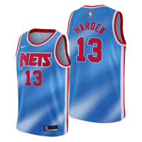 Men's Brooklyn Nets James Harden #13 Nike Blue 2020/21 Swingman Jersey - Classic Edition