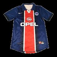PSG Retro Soccer Jersey Home Replica 1998/99