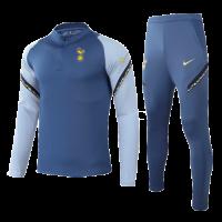 20/21 Tottenham Hotspur Gray Zipper Sweat Shirt Kit(Top+Trouser)