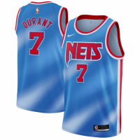 Men's Brooklyn Nets Kevin Durant Nike Blue 2020/21 Swingman Jersey - Classic Edition