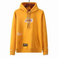 Men's Aape x LA Lakers Yellow Hoodie