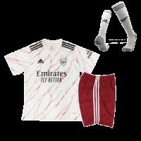 Arsenal Kids Soccer Jersey Away Whole Kit (Shirt+Short+Socks) 2020/21