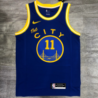 Men's Golden State Warriors Klay Thompson #11 Nike Royal Hardwood Classics 2020/21 Swingman Jersey- Classic Edition