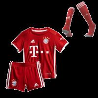 Bayern Munich Kids Soccer Jersey Home Whole Kit (Shirt+Short+Socks) 2020/21