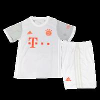 Bayern Munich Kids Soccer Jersey Away Kit (Shirt+Short) 2020/21