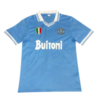Napoli Retro Soccer Jersey Home Replica 1986/87