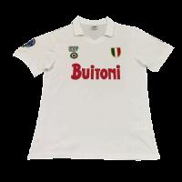 Napoli Retro Soccer Jersey Away Replica 1987/88