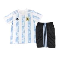 Argentina Kid's Soccer Jersey Home Kit (Shirt+Short) 2021