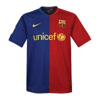Barcelona Soccer Jersey Home Retro Replica 2008/09