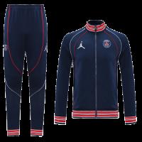 21/22 PSG Dark Navy High Neck Collar Training Kit(Jacket+Trouser)