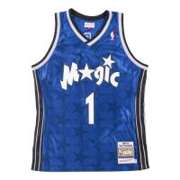 Men's Orlando Magic Tracy McGrady #1 Mitchell & Ness Blue 00-01 Hardwood Classics Jersey