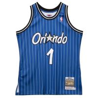 Men's Orlando Magic Anfernee Hardaway #1 Mitchell & Ness Blue 94-95 Hardwood Classics Jersey