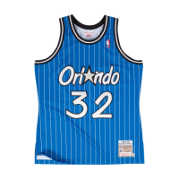 Men's Orlando Magic Shaquille O'Neal #32 Mitchell & Ness Blue 94-95 Hardwood Classics Jersey