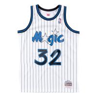 Men's Orlando Magic Shaquille O'Neal #32 Mitchell & Ness White 93-94 Hardwood Classics Jersey