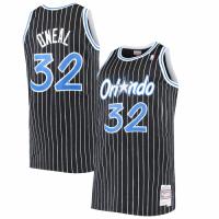 Men's Orlando Magic Shaquille O'Neal #32 Mitchell & Ness Black 94-95 Hardwood Classics Jersey