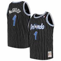 Men's Orlando Magic Tracy McGrady #1 Mitchell & Ness Black 03-04 Hardwood Classics Jersey