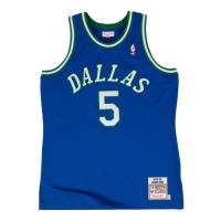 Men's Dallas Mavericks Jason Kidd #5 Mitchell & Ness Blue 1994-95 Hardwood Classics Jersey