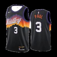 Men's Phoenix Suns Chris Paul #3 Nike Black 2021 Swingman Jersey - City Edition