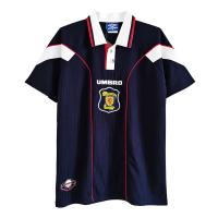 Scotland Retro Soccer Jersey Home Replica 1996/98