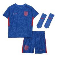 England Kid's Soccer Jersey Away Whole Kit (Shirt+Short+Socks) 2021