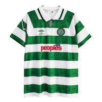 Celtic Soccer Jersey Home Retro Replica 1991/92