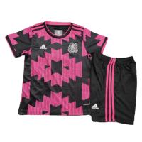 Mexico Kid's Soccer Jersey Home Kit (Shirt+Short) 2021