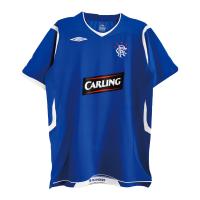 Glasgow Rangers Soccer Jersey Home Retro Replica 2008/09