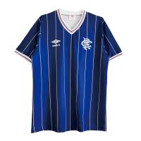 Glasgow Rangers Soccer Jersey Home Retro Replica 1982/83
