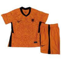 Netherlands Kid's Soccer Jersey Home Kit (Shirt+Short) 2021