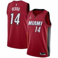 Men's Miami Heat Tyler Herro #14 Jordan Brand Red 20/21 Swingman Player Jersey - Statement Edition