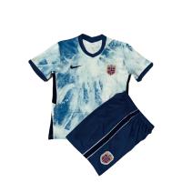 Norway Kid's Soccer Jersey Away Kit (Jersey+Short) 2020