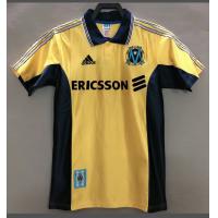 Marseilles Retro Soccer Jersey Away Replica 1998/99