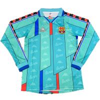 Barcelona Retro Soccer Jersey Away Long Sleeve Replica 1996/97