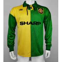 Manchester United Retro Soccer Jersey Away Long Sleeve Replica 1992/94
